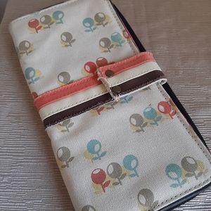 Parcel travel wallet clutch small handbag